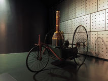 Coches antiguos en el museo del coche en Turín Imagen de archivo libre de regalías