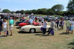 Coches clásicos del Benz de Mercedes en el evento 2 de Boca Raton Fotografía de archivo