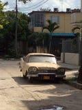 Coches cubanos fotografía de archivo libre de regalías