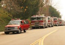 Coches de bomberos imagen de archivo libre de regalías