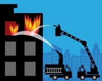 Coches de bomberos libre illustration