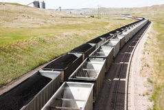 Coches de carbón Imágenes de archivo libres de regalías