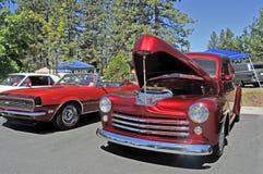 Coches de carreras de Chevrolet Fotografía de archivo