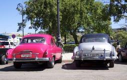 Coches de Cuba Foto de archivo