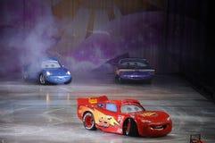COCHES de Disney/de Pixar Imágenes de archivo libres de regalías