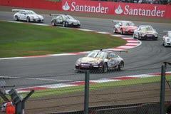 Coches de la taza de Porsche Carrera Fotografía de archivo