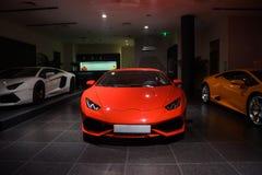 Coches de Lamborghini para la venta Fotos de archivo libres de regalías
