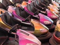 Coches de parachoques Imágenes de archivo libres de regalías