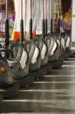 Coches de parachoques vacíos Foto de archivo libre de regalías