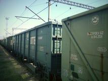 Coches de tren Imagen de archivo libre de regalías