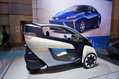 Coches del concepto de Toyota Fotografía de archivo libre de regalías