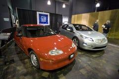 Coches del GM de la expo del coche del Alt Imagen de archivo libre de regalías