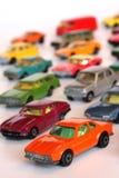 Coches del juguete Fotos de archivo