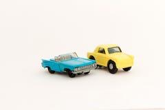Coches del juguete Fotografía de archivo libre de regalías
