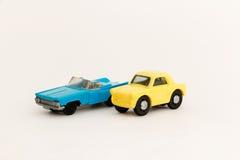 Coches del juguete Fotografía de archivo