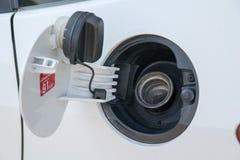 coches del tanque de aceite del casquillo Imagen de archivo libre de regalías