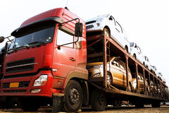 Coches del transporte Foto de archivo libre de regalías