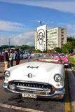 Coches del vintage en La Habana Imágenes de archivo libres de regalías
