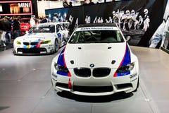 Coches deportivos de MOSCÚ, RUSIA - de BMW imagen de archivo