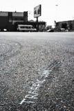Coches en el asfalto Imágenes de archivo libres de regalías