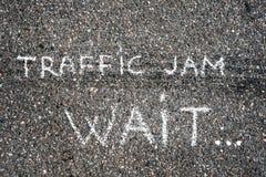 Coches en el asfalto Fotos de archivo libres de regalías