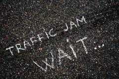 Coches en el asfalto Imagenes de archivo