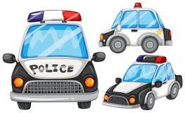 Coches policía Imágenes de archivo libres de regalías