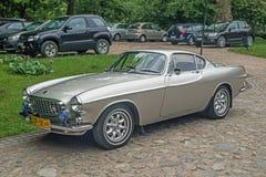 Coches suecos clásicos Volvo P1800 Imagen de archivo libre de regalías