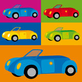 Coches (vector) Royalty Free Stock Images