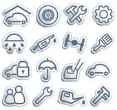 Coches y recambios Imagen de archivo libre de regalías