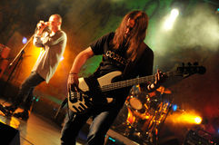 Cochese - rock band on stage Royalty Free Stock Photography