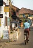 cochin νότια οδός σκηνής της Ινδί&al Στοκ Εικόνες