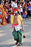 Cochin Carnival 2015. The Cochin Carnival is Fort Cochin's biggest bash, a 10-day festival culminating on New Year's Eve. Street parades, colourful costumes stock photos