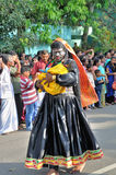 Cochin Carnival 2015. The Cochin Carnival is Fort Cochin's biggest bash, a 10-day festival culminating on New Year's Eve. Street parades, colourful costumes stock image
