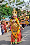 Cochin Carnival 2015. The Cochin Carnival is Fort Cochin's biggest bash, a 10-day festival culminating on New Year's Eve. Street parades, colourful costumes royalty free stock images