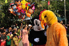 Cochin Carnival 2015 Stock Images