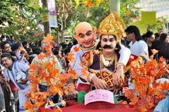 Cochin-Karneval 2015 Lizenzfreie Stockbilder