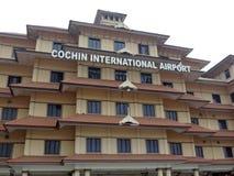 Cochin lotnisko międzynarodowe Obraz Royalty Free