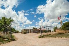 Cochiti-Inderreservierung im New Mexiko, USA Stockbilder