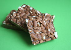 Cocholate avec du riz Image stock