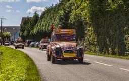 Cochonou CRS durante il Tour de France Fotografie Stock