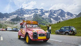 Cochonou Vehicle - Tour de France 2014 Stock Images