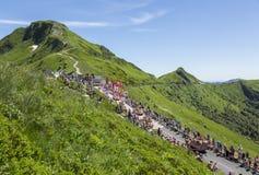 Cochonou-Wohnwagen - Tour de France 2016 Lizenzfreie Stockfotografie