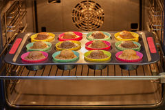 Cocido en los molletes del horno Fotografía de archivo libre de regalías
