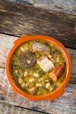 Cocido monta�es. Mountain stew Royalty Free Stock Image