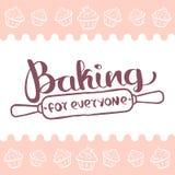 Cociendo para todo el mundo el logotipo Fotografía de archivo libre de regalías
