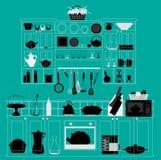 Cocina Imágenes de archivo libres de regalías