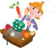 Cocina libre illustration