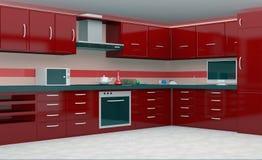 cocina 3d Foto de archivo