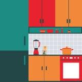 Cocina Fotografía de archivo libre de regalías